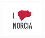 Patch I Love Norcia